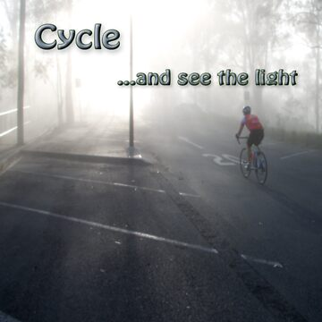 Cycle and see the light by RayLockett
