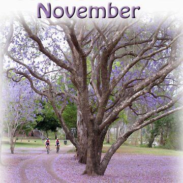 Cycle BNE November by RayLockett