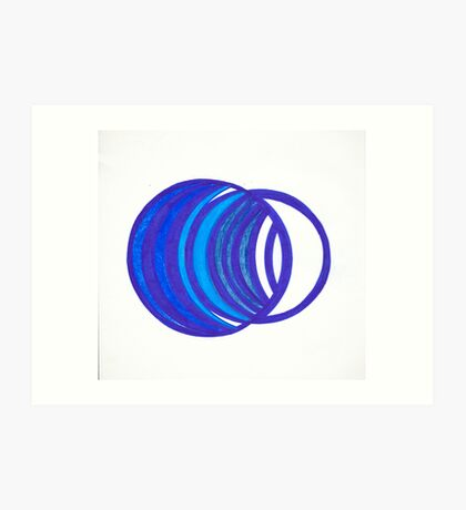 Going in Circles Art Print