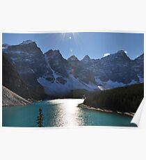 Lake Morraine Poster