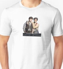 JC Carrying the Banner  Unisex T-Shirt