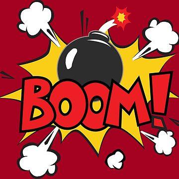 COMIC BOOK: BOOM BOMB! by MDRMDRMDR