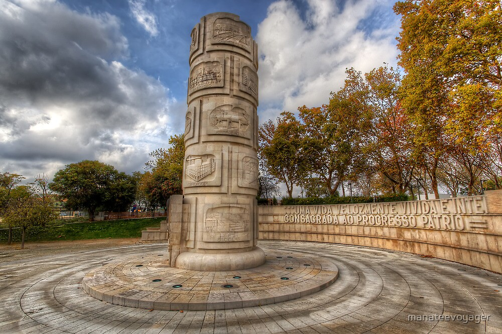 Monument To The Peoples Struggles by manateevoyager