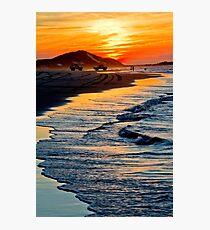 Yellow Patch sunset (Moreton Island, Australia) Photographic Print
