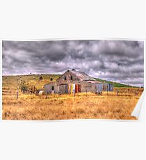 Click Go The Shears - Somewhere in Northern Victoria - The HDR Experience Poster