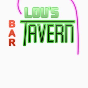 Lou's Tavern  by LookOutBelow
