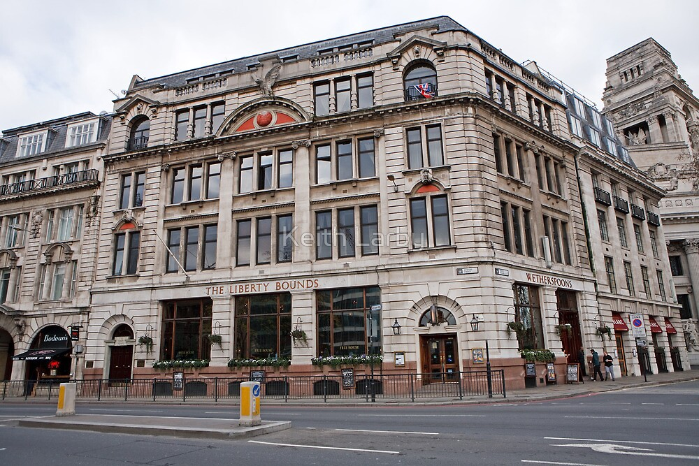The Liberty Bounds a Wetherspoon pub In the city of London by Keith Larby