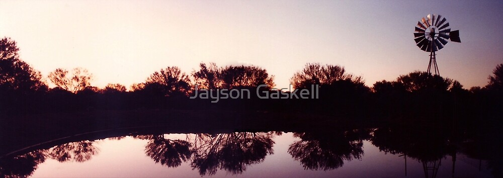 Windmill sunset by Jayson Gaskell