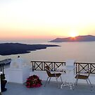 View from Fira by Paige