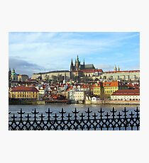 Prague - skyline with Castle district Photographic Print