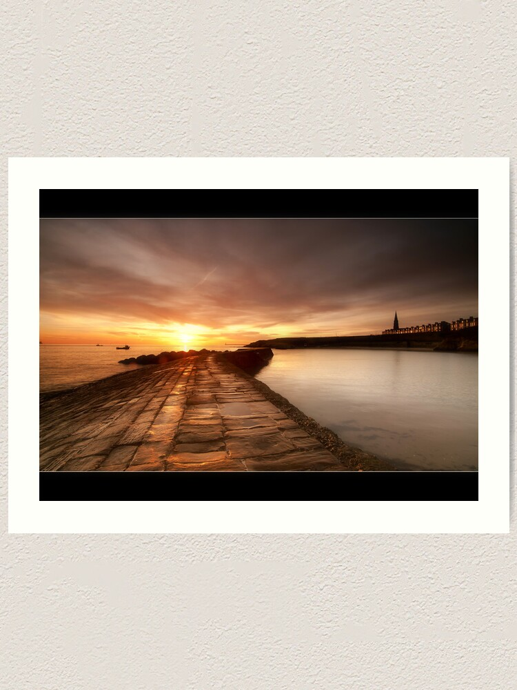Alternate view of Cullercoats Art Print