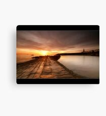 Cullercoats Canvas Print