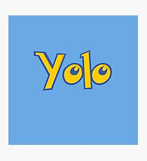 Yolo Photographic Print