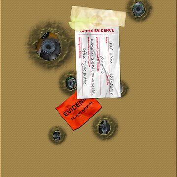 Evidence iPad Case by tapiona