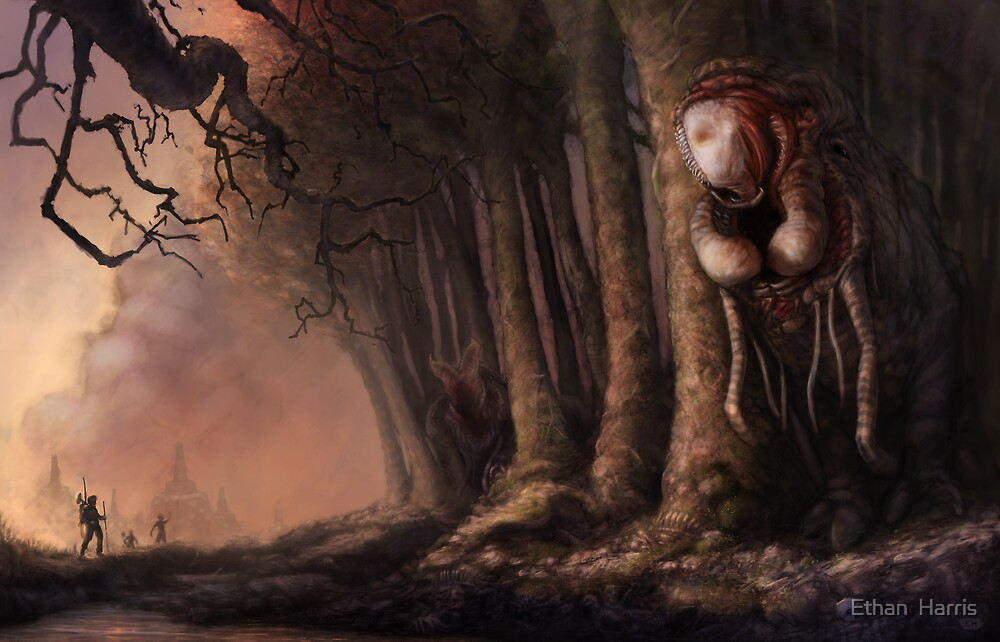 The Fabled Giant Women of the Woods by Ethan  Harris