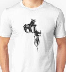 Tattoo Machine Gun Pop Art T-Shirt