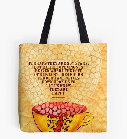 What my Coffee says to me -  January 6th, 2013 Tote Bag