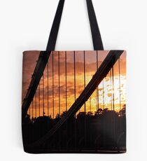 Suspended Sunset Tote Bag