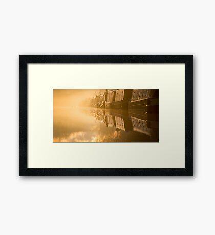 Touching the Dawn Framed Print