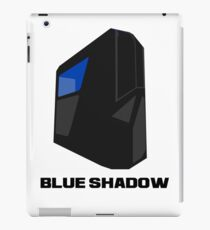 Blue shadow PC iPad Case/Skin