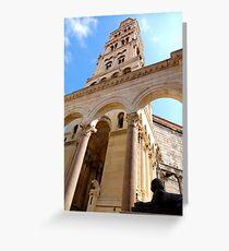 Diocletian's Palace, Split, Croatia Grußkarte