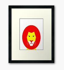 AnimalKingdom - Lion Framed Print