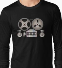 Tape Recorder Retro Magnetophon  Long Sleeve T-Shirt