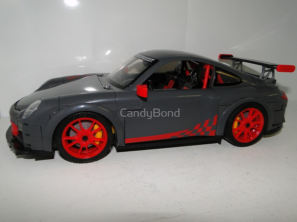 LEGO Car by MegaBloks Body by CandyBond