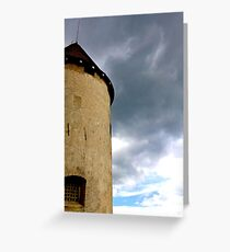 Bled Castle, Slovenia Greeting Card