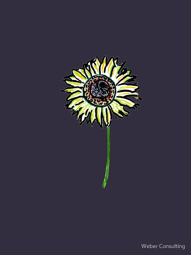 Himawari - Zen Sunflower by HalfNote5