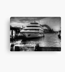 Sydney 2000 at Circular Quay Canvas Print
