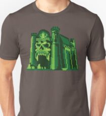 By the Pixel of Grayskull Slim Fit T-Shirt