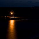 Wool Bay jetty at night by paul erwin