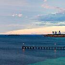 morning light in Wool Bay by paul erwin