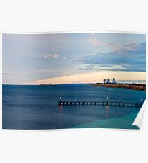 morning light in Wool Bay Poster