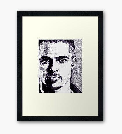 Brad Pitt  Framed Print