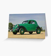 1937 Fiat Topolino 500A Greeting Card
