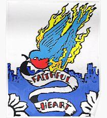 Faithful heart Poster