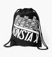 Monsta X Member Names List Drawstring Bag