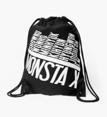 Monsta X Member Names List Drawstring Bag