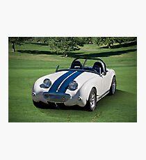 Austin-Healey Bug-Eye Sprite Photographic Print