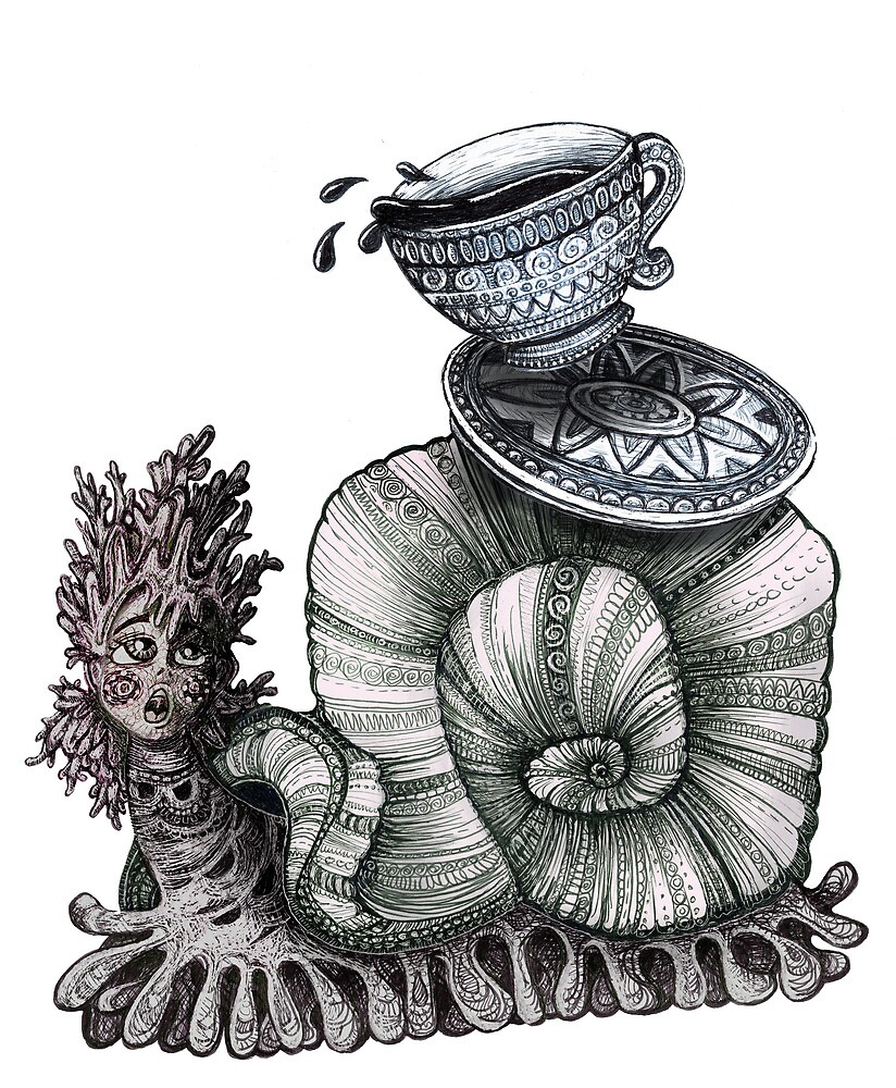 tea time by brookeduckart