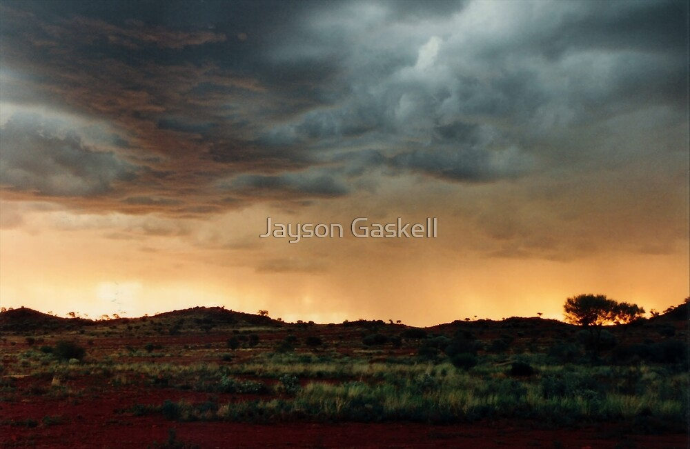 Outback Sunset by Jayson Gaskell