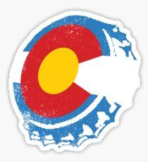 Colorado Brewers: Colorado Hometown Series Sticker