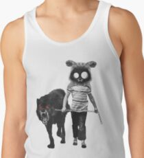 out for walk Men's Tank Top