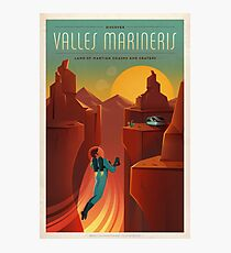 Valles Marineris Photographic Print