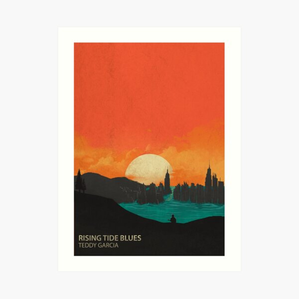 Rising Tide Blues Merch Art Print