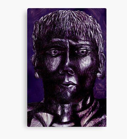 Iron Stare Canvas Print