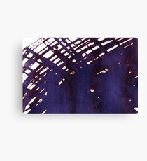 scruffily cross hatched Canvas Print