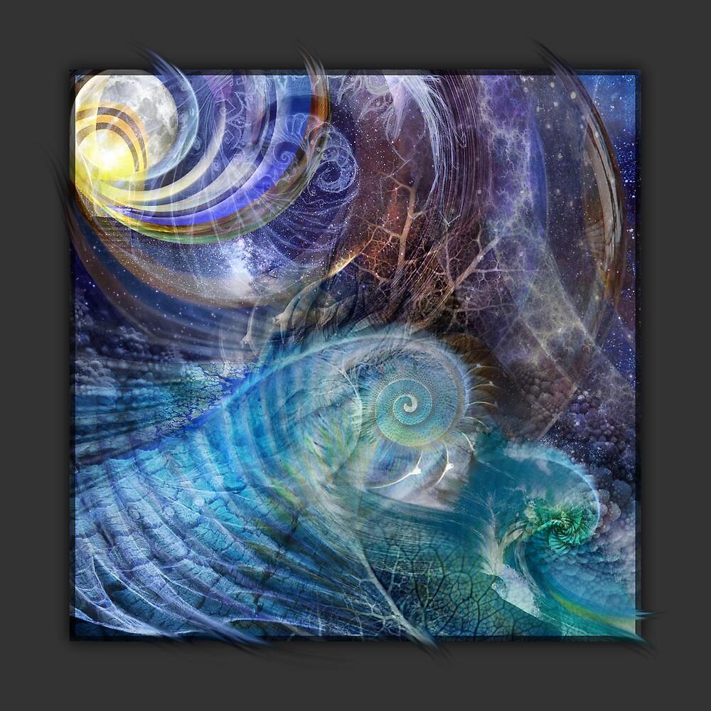 Fractal Ocean  by donnarebecca